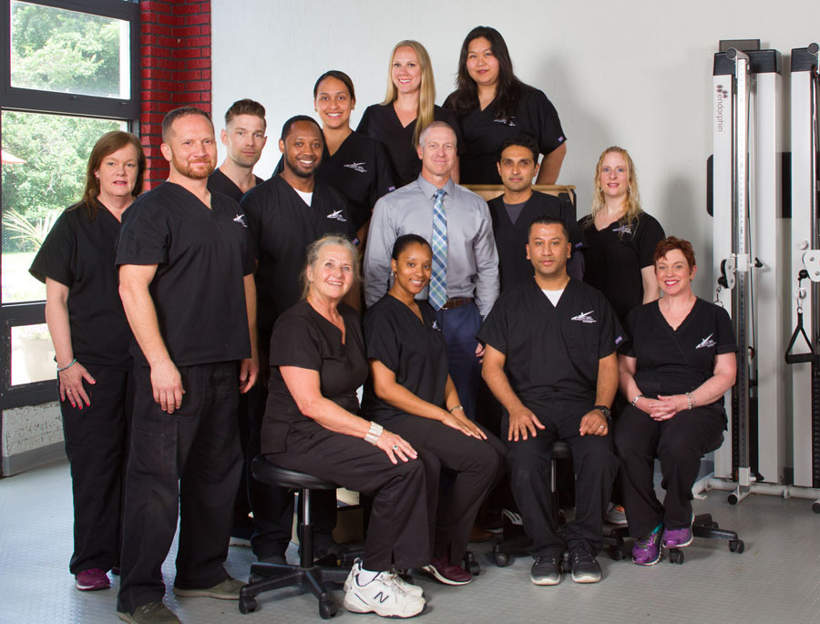 Physical therapy staff at Excel on Long Island